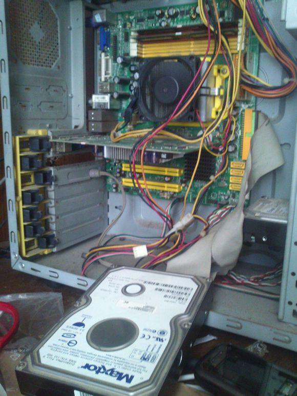 这张图片就是我的第一台电脑的主机
